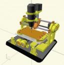 CNC – JSCut – Proceso Cortar y Grabar en la misma pieza