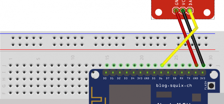 NodeMCU – Estación Meteorológica – Temperatura interior DHT22 desde Thingspeak