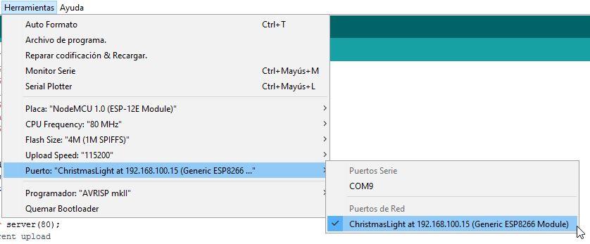 NodeMCU_ChristmasLight_SPIFFS Arduino 1.6.8