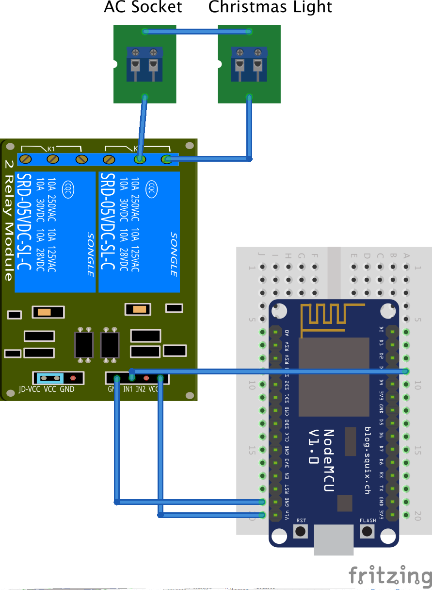 Node MCU – Home kit – Raspberry PI – Con Siri