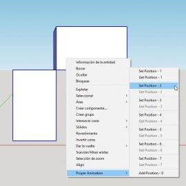 Sketchup – Extension Proper Animation – crear animaciones