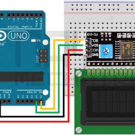 Arduino – LCD 1602 I2C