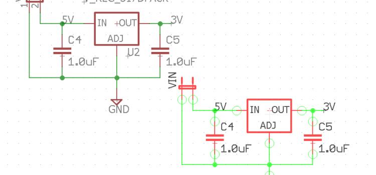 EAGLE – Copiar componentes de un esquema a otro